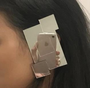 Mirror Earring by Monirath