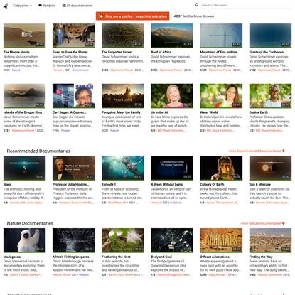 Documentaries - watch free online documentaries - ihavenotv.com