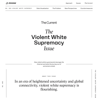 Violent White Supremacy | Jigsaw