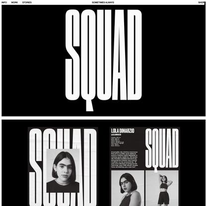 Squad – Sometimes Always