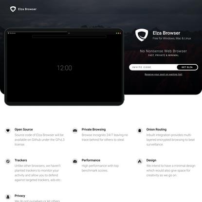 Elza Browser
