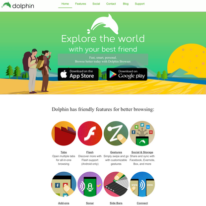 Dolphin Browser - The free, fast and smart mobile browser