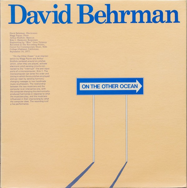 David Behrman – On the Other Ocean (1978)