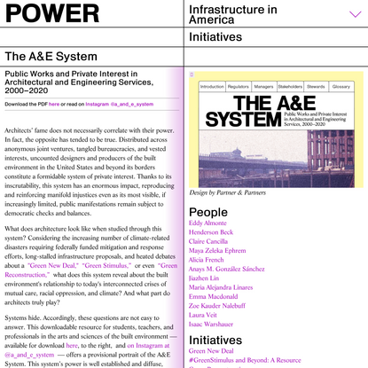 The A&E System
