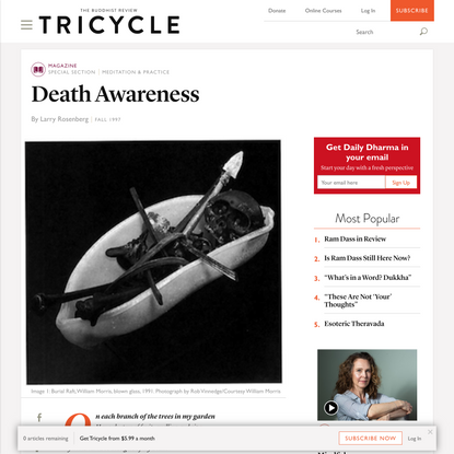 Death Awareness