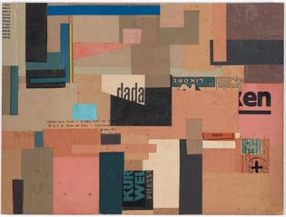 Hannah Höch, Untitled (Dada), c. 1922