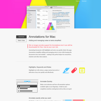 Annotations for Mac