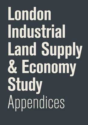 London Industrial Land Supply Economy Study