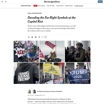 Decoding the Far-Right Symbols at the Capitol Riot