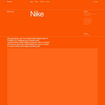 Norgram® — Nike