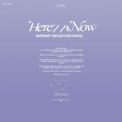 Here//&Now