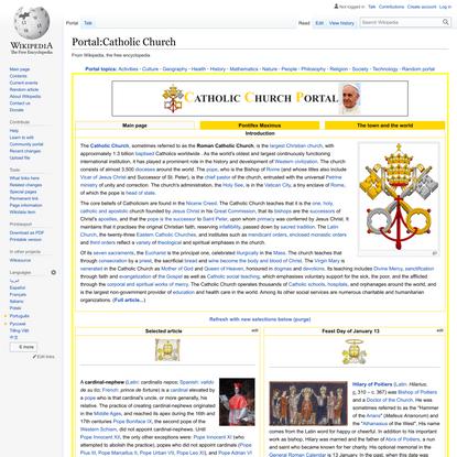 Portal:Catholic Church - Wikipedia