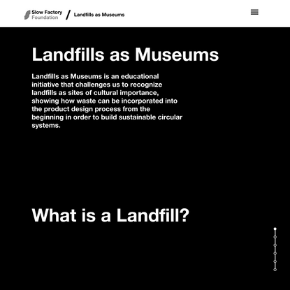 Landfills as Museums