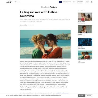 Falling in Love with Céline Sciamma