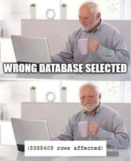 Wrong Database