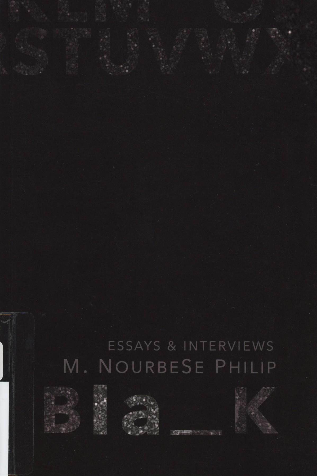 M. NourbeSe Philip