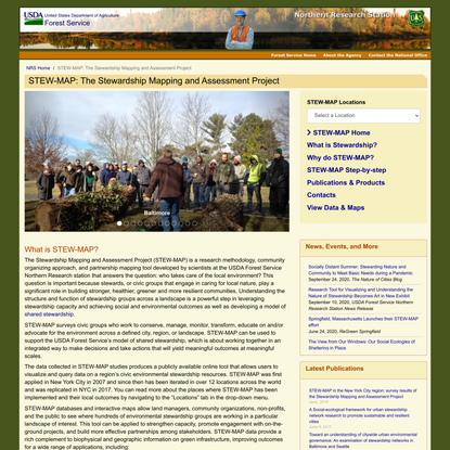 STEW-MAP: The Stewardship Mapping and Assessment Project =Northern Research Station