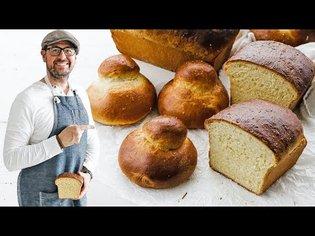Homemade Brioche Bread Recipe
