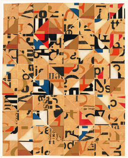 Norman Ives, Untitled collage