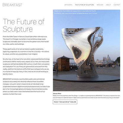 The Future of Sculpture