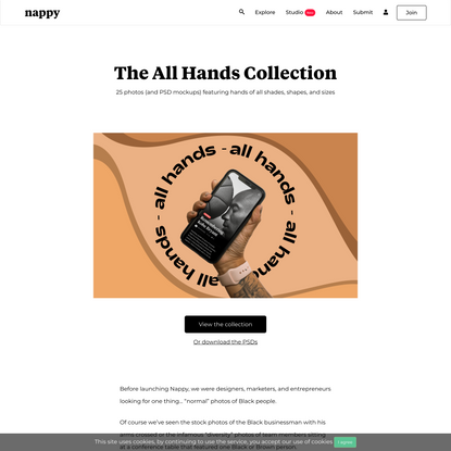 The All Hands Collection   Nappy