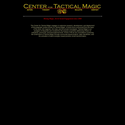 Center for Tactical Magic