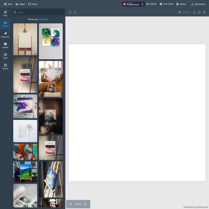 Polotno Studio - Online Free Design Editor