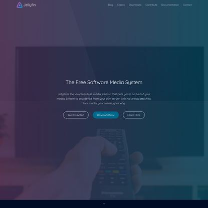 Jellyfin: The Free Software Media System