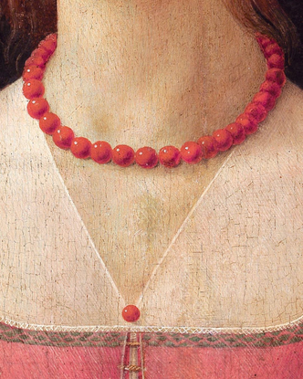 """8PM ART on Instagram: """"""""Portrait of a Young Woman"""" details by Domenico Ghirlandaio, c. 1490 @fcgulbenkian #8pmart"""""""
