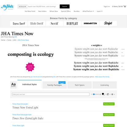 JHA Times Now Font | Webfont & Desktop | MyFonts