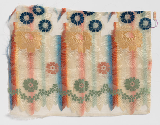 Mexican Textile Fragment, 1800s