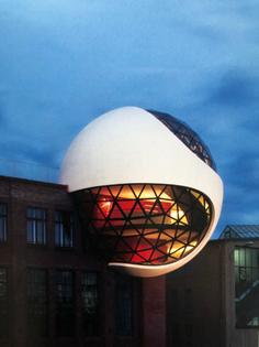 Sphere by night