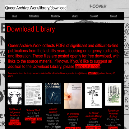 Queer.Archive.Work Download Library