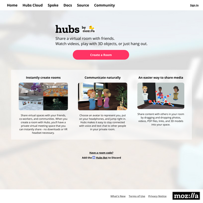 Hubs by Mozilla