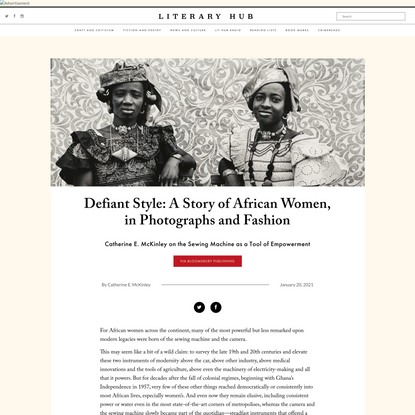 Defiant Style: A Story of African Women, in Photographs and Fashion ‹ Literary Hub