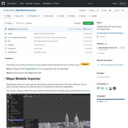 eliemichel/MapsModelsImporter