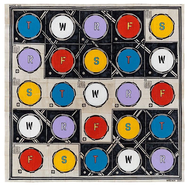 George Widener Magic Square