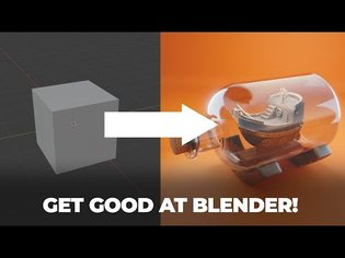 Get Good at Blender 3D in 2021!