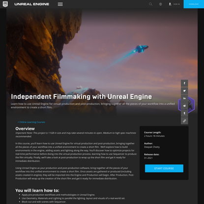 Independent Filmmaking with Unreal Engine - Unreal Engine