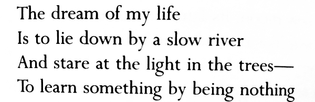 Entering the Kingdom by Mary Oliver