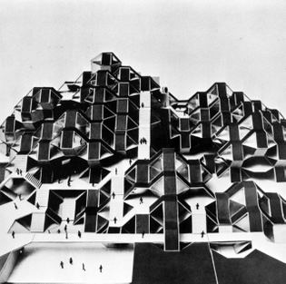 Moshe Safdie, San Francisco State College Student Union, 1968