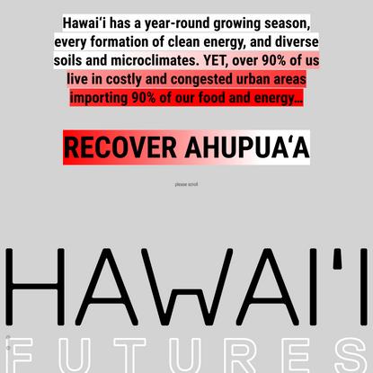 Hawai'i Futures