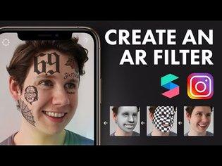 Create an Instagram Filter | Beginner Spark AR Tutorial