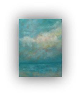 oil painting abstract landscape ocean painting on canvas
