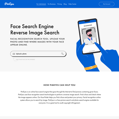 PimEyes: Face Recognition Search Engine and Reverse Image Search