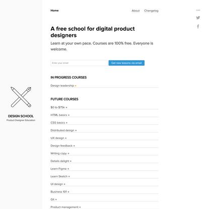 Design School - Product designer Education