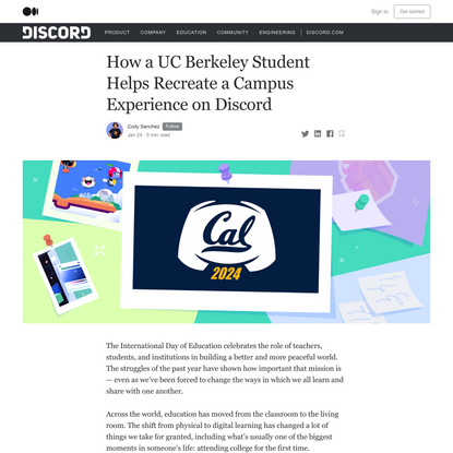 How a UC Berkeley Student Helps Recreate a Campus Experience Through Discord