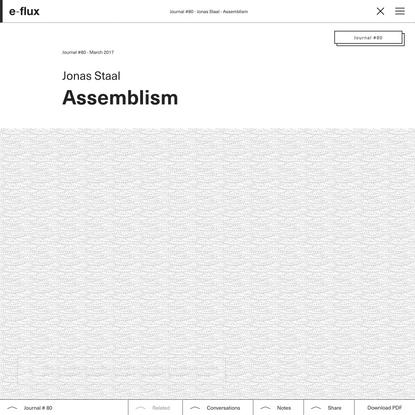 Assemblism