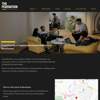 Co-working space Manchester - The Federation