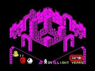 Alien 8 Walkthrough, ZX Spectrum